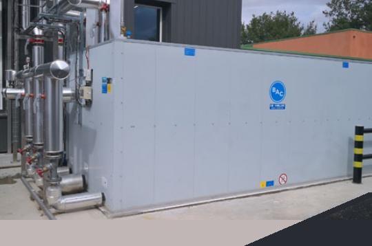 Echipamente de stocare a energiei prin acumulare de gheață BAC